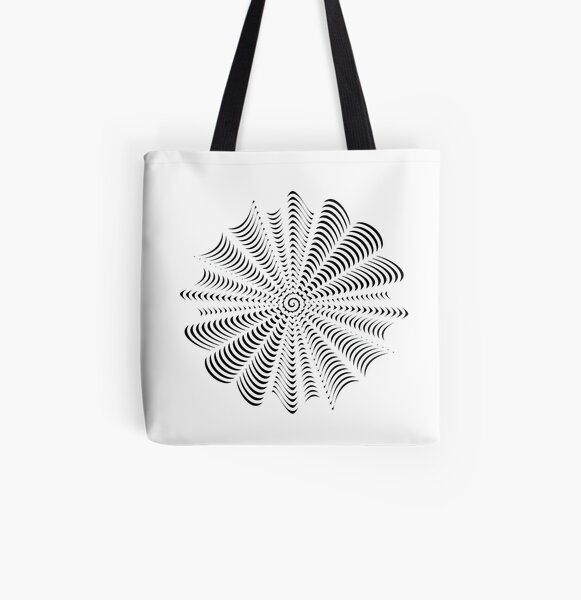 Decorative Pattern All Over Print Tote Bag