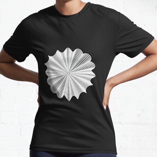 Decorative Pattern Active T-Shirt