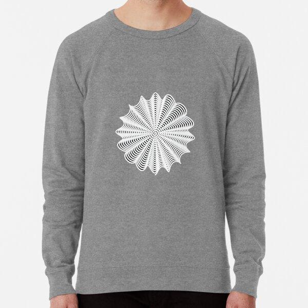 Decorative Pattern Lightweight Sweatshirt