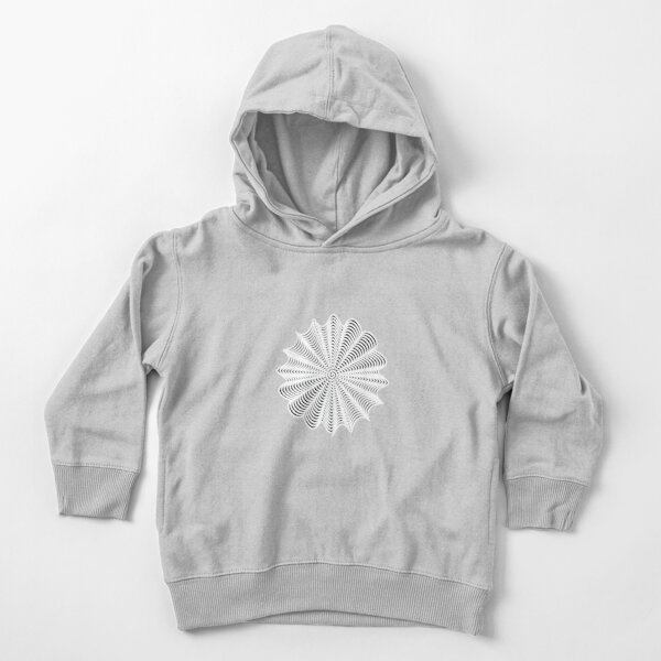 Decorative Pattern Toddler Pullover Hoodie