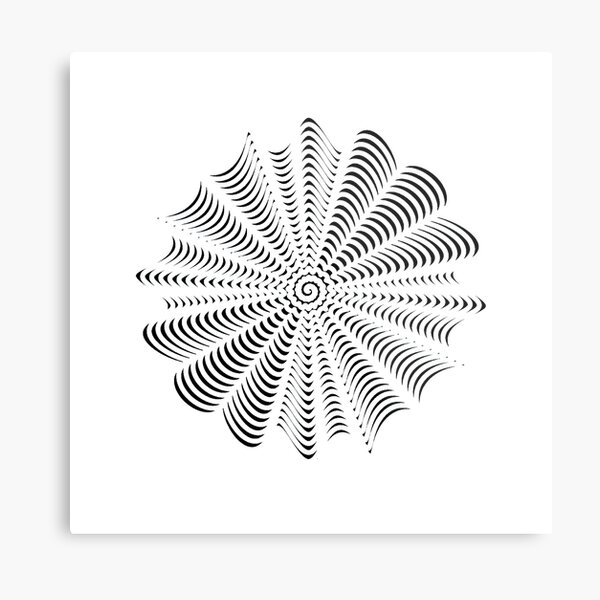 Decorative Pattern Metal Print