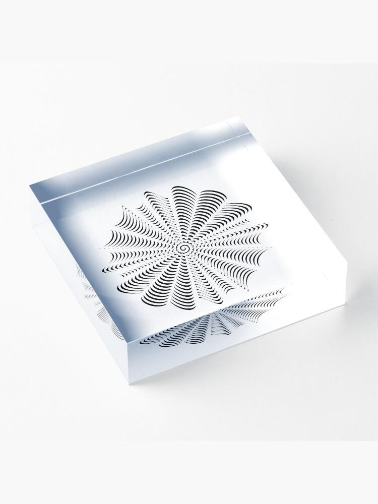 Alternate view of Decorative Pattern Acrylic Block