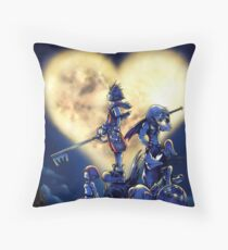 Kingdom Hearts Book Throw Pillow