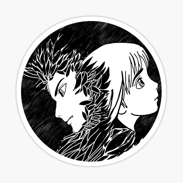 howl and sophie Sticker