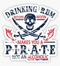 rum pirate 2 Sticker
