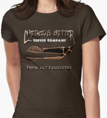 Cretaceous Critter Coffee Co. Women's Fitted T-Shirt