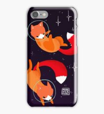 Space Foxes iPhone Case/Skin