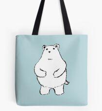 Shy Bear. Tote Bag