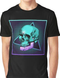 Sci-fi Skull Graphic T-Shirt