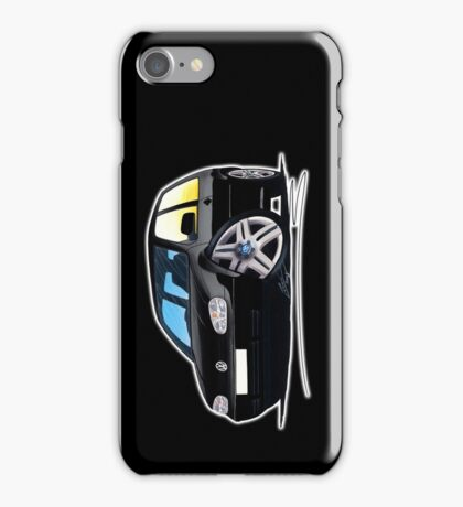 VW Golf (Mk4) Black iPhone Case/Skin