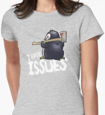 Penguin I Have Isues T-Shirt