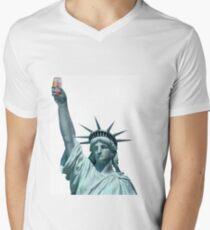Statue of Emu Export Men's V-Neck T-Shirt