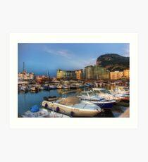 Ocean Village, Gibraltar Art Print