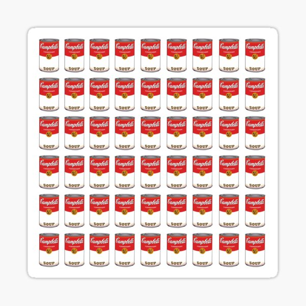 Campbell Soup Sticker