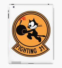 """VFA-31 Strike Fighter Squadron 31 """"Tomcatters"""" iPad Case/Skin"""