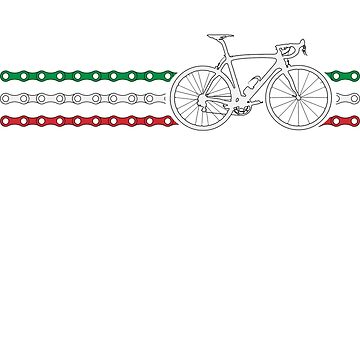 Bike Stripes Italy - Chain by sher00