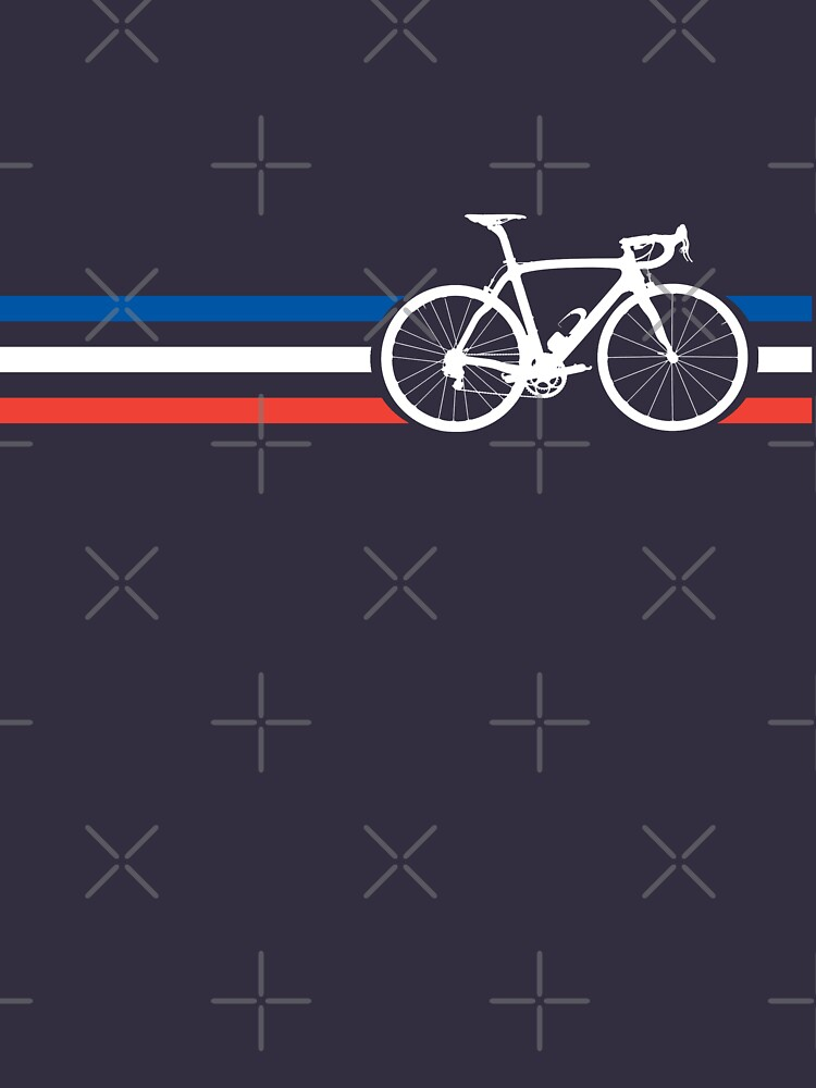 Bike Stripes French National Road Race v2 | Unisex T-Shirt