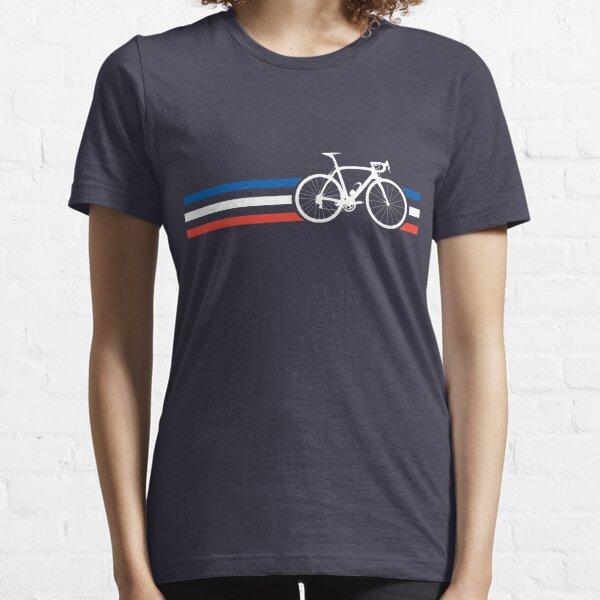 Bike Stripes French National Road Race v2 Essential T-Shirt