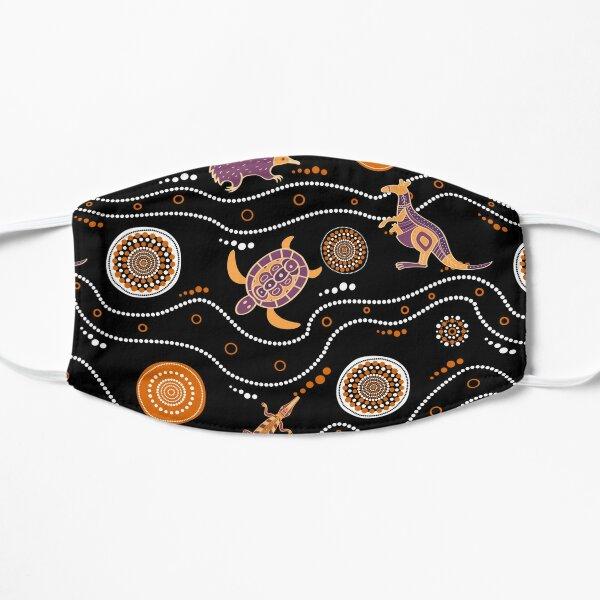 Authentic Aboriginal Flat Mask