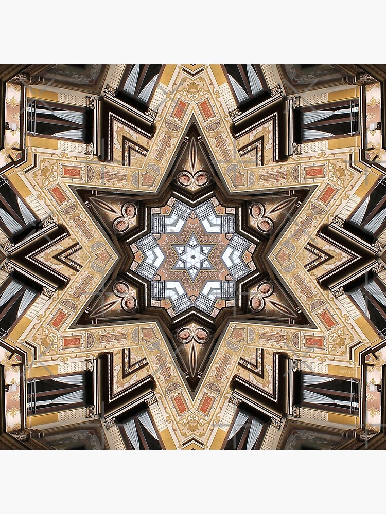 Architectural Star of David by morningdance