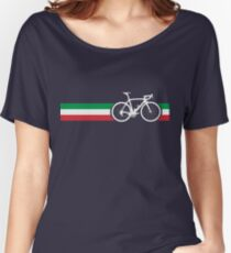 Bike Stripes Italian National Road Race Women's Relaxed Fit T-Shirt