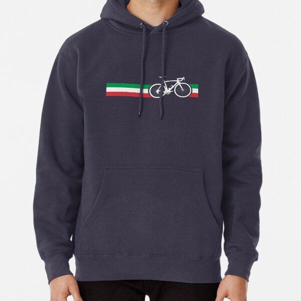 Bike Stripes Italian National Road Race Pullover Hoodie