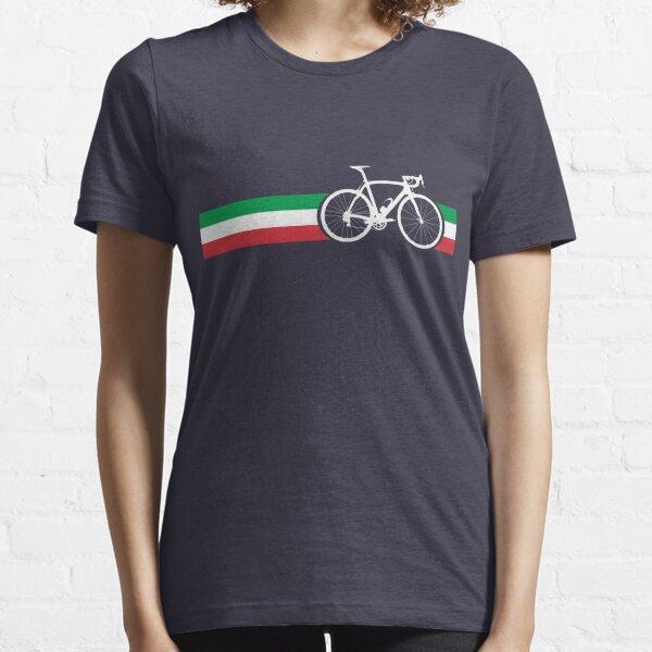Bike Stripes Italian National Road Race Essential T-Shirt