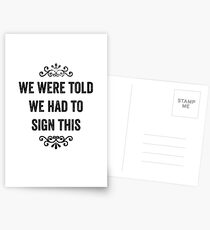 Signature Collections Snarky Card & More Postcards
