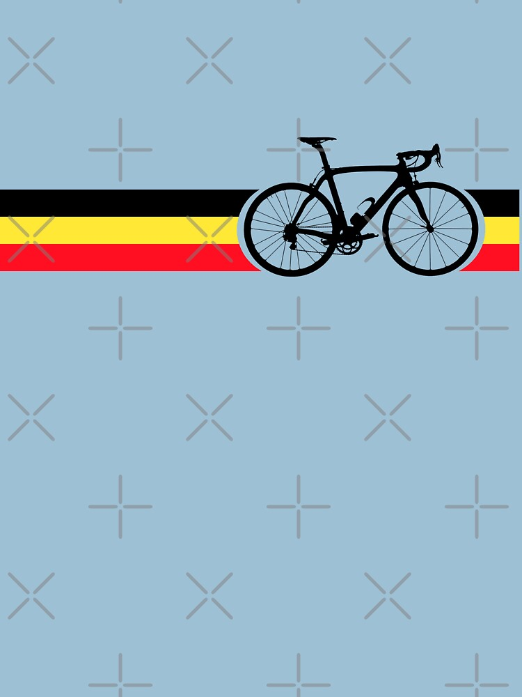 Bike Stripes Belgian National Road Race | Unisex T-Shirt