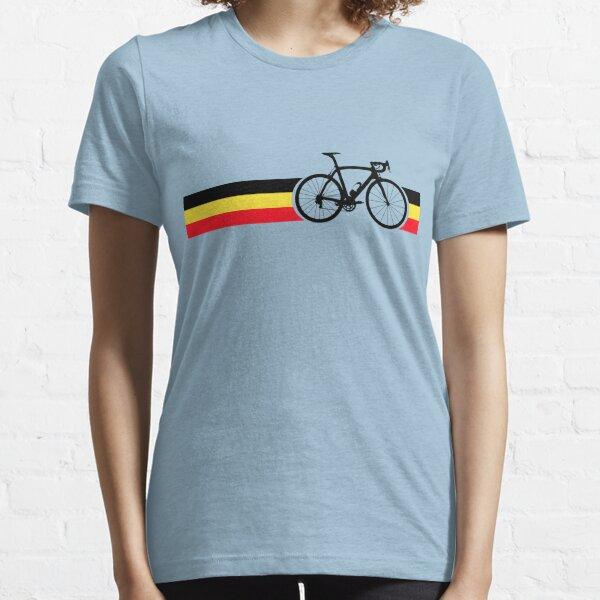 Bike Stripes Belgian National Road Race Essential T-Shirt