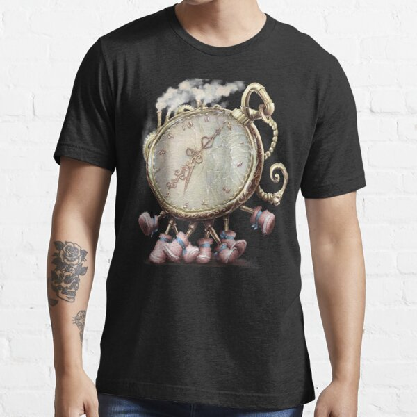 Cute Walking watch, wonderland, Just the clock Essential T-Shirt