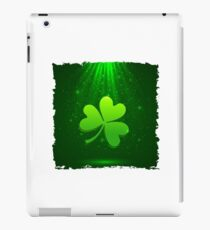 Clover leaf iPad Case/Skin