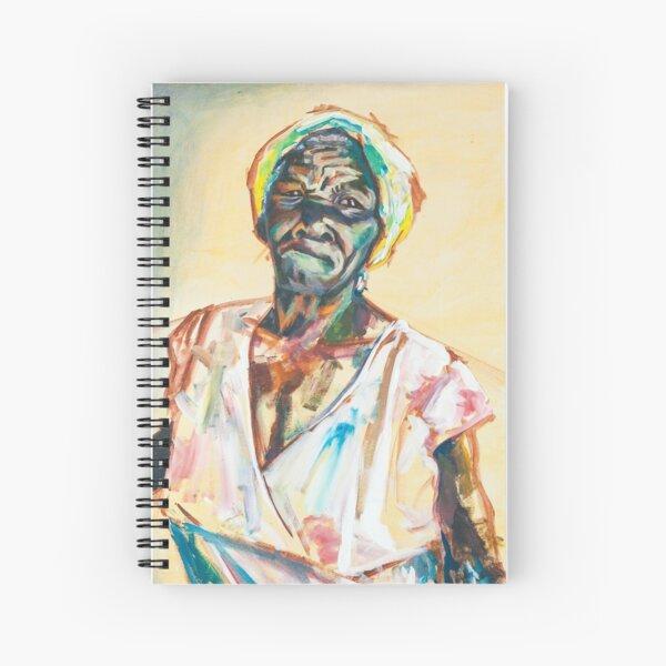 Pentimenti (Ms. Beryl) Spiral Notebook
