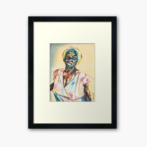 Pentimenti (Ms. Beryl) Framed Art Print
