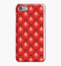 Upholstery leather iPhone Case/Skin