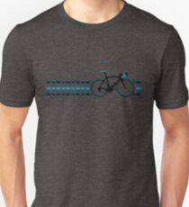 Camiseta unisex Bike Stripes Team Sky - Cadena