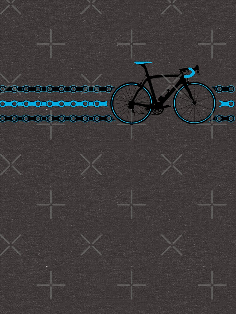 TShirtGifter presents: Bike Stripes Team Sky - Chain | Unisex T-Shirt