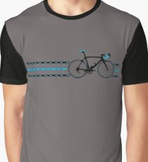 Bike Stripes Team Sky - Chain Graphic T-Shirt