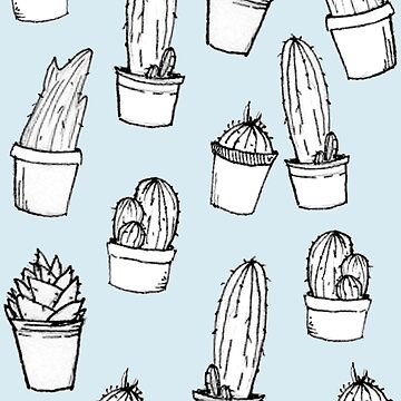 Assorted Cacti by jellyelly