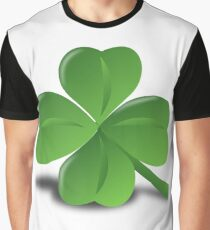 Four leaf clover glazing Graphic T-Shirt