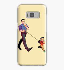 bat baby leash Samsung Galaxy Case/Skin