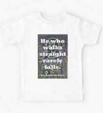 He Who Walks Straight - da Vinci Kids Tee