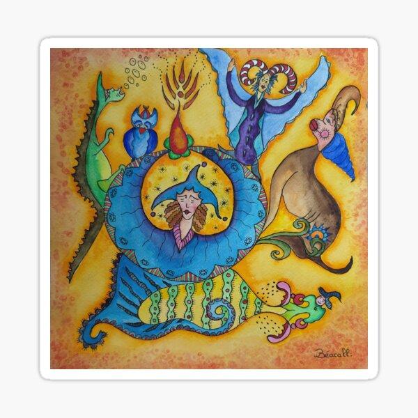 incantation Sticker