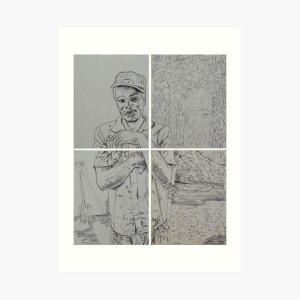 Solidarity (Chronixx) - Cultivating the future. Art Print