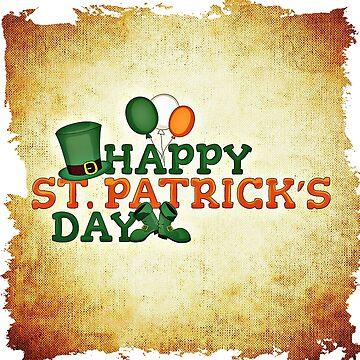Happy Saint Patrick's day celebration by Mallorys