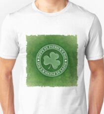 Happy Saint Patrick's day clover leaf Unisex T-Shirt
