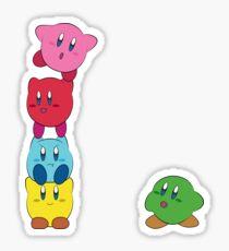 Kirby Totem Sticker