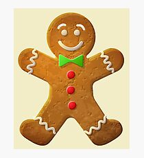 Gingerbread man Photographic Print