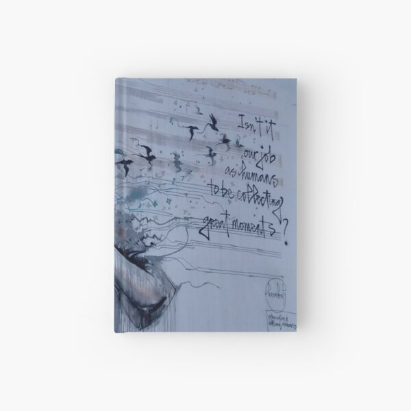 GREAT MOMENTS Hardcover Journal