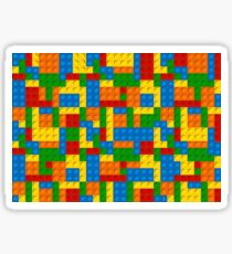 plastic blocks Sticker